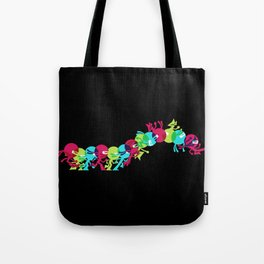 ninja moves (black) Tote Bag