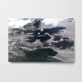 Blend Metal Print