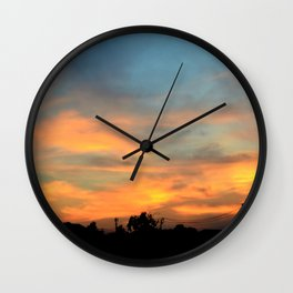 descend Wall Clock