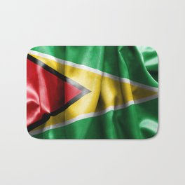 Guyana Flag Bath Mat