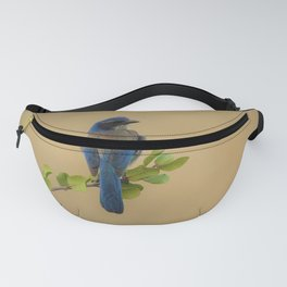 Bluebird of my Happy Space by Reay of Light Fanny Pack