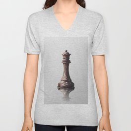 queen low poly Unisex V-Neck