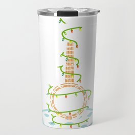 Banjo Christmas Tree Banjo Player Or Musician Gift Travel Mug