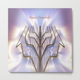 Happy Chanukah! Metal Print