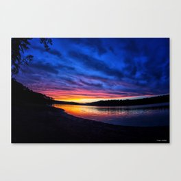 Georgia On My Mind Canvas Print