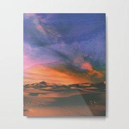 Lonely Dunes Metal Print