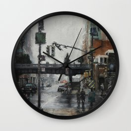 The Highline Wall Clock