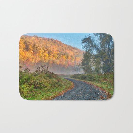 Misty Autumn McDade Trail Bath Mat