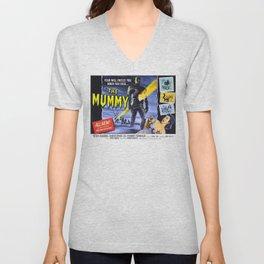 The Mummy, vintage horror movie poster Unisex V-Neck