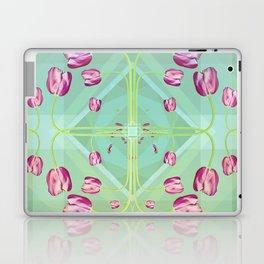 Tulips in green shades Laptop & iPad Skin