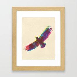 Eagle Paint Print Framed Art Print