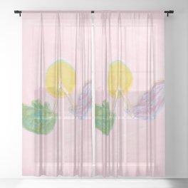 Wishbone Sheer Curtain