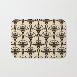 Seamless antique pattern art deco stylish print Bath Mat