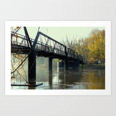 The Old 57th Street Bridge Art Print