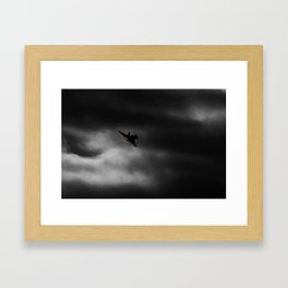 Buggin out and goin home Framed Art Print