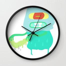 Drip monster Wall Clock