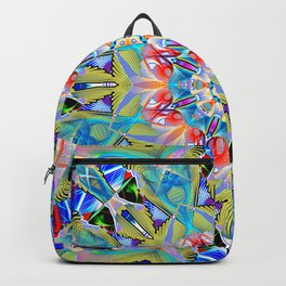 Art Deco Theme Pattern New York Style No 1 Backpack