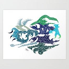 Aquatilium Vision Art Print