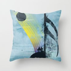 summer tune Throw Pillow