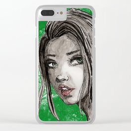 Erica Clear iPhone Case