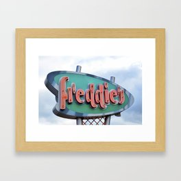 Freddies Framed Art Print