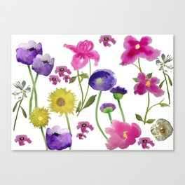 Happy garden Canvas Print