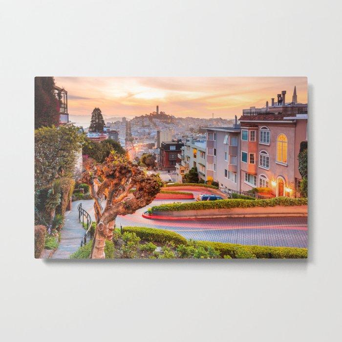 San Francisco 01 - USA Metal Print