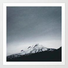 Mt. Hood x Oregon Art Print