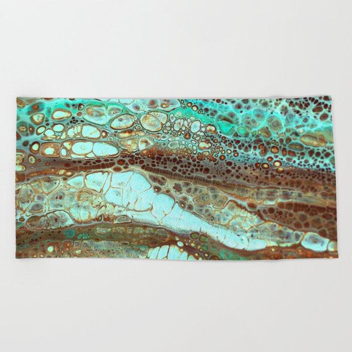 Abstract Annemarie Beach Towel