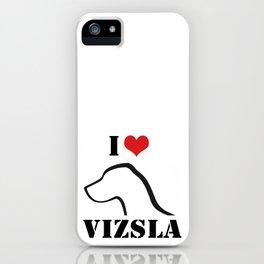 i ♥ vizsla iPhone Case
