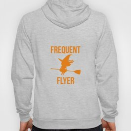 Frequent Flyer Halloween Witch Hoody