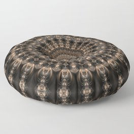 Mandala grey elegance Floor Pillow