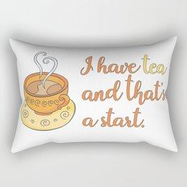 I Have Tea Rectangular Pillow