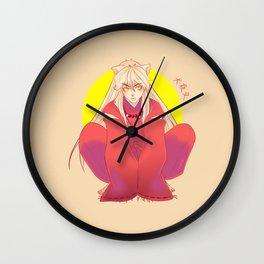 Inuyasha Wall Clock