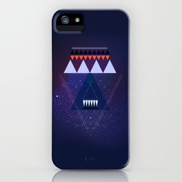 GALAXY TRIANGLE iPhone Case
