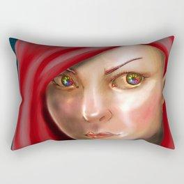 Pretty Eyes Rectangular Pillow