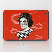audrey iPad Cases featuring Audrey by moon-meat