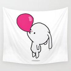 Mononoco with Bubble Gum  Wall Tapestry