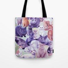 cats portrait Tote Bag