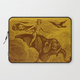 The Occult Golden Elephant Laptop Sleeve