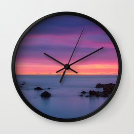 Baily Lighthouse in Purple - Ireland (RR194) Wall Clock