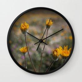 Desert in Bloom Wall Clock