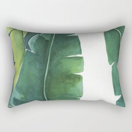 Banana Leaf 1 Rectangular Pillow