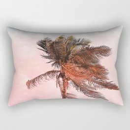 Rainbow Palm Tree Rectangular Pillow