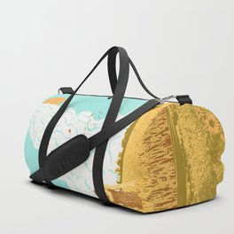 ROCKET LAUNCH Duffle Bag