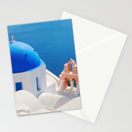Santorini Orthodox Greek Church Stationery Cards