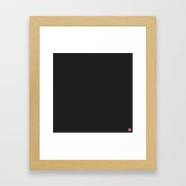 Carbon Fiber Framed Art Print