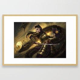 Dragon Army Framed Art Print