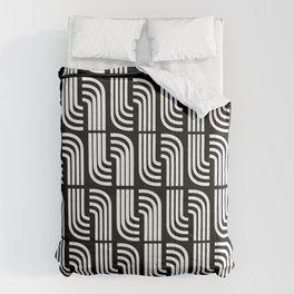 BLANCO SOBRE NEGRO Comforters