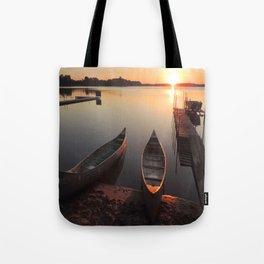 Okoboji Sunrise Tote Bag